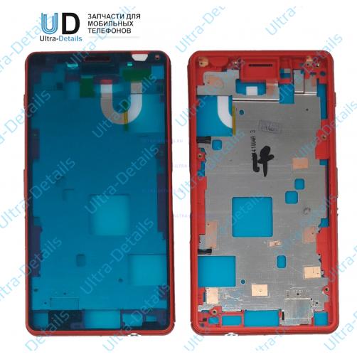 Корпус для Sony D5803 (Z3 Compact) Красный