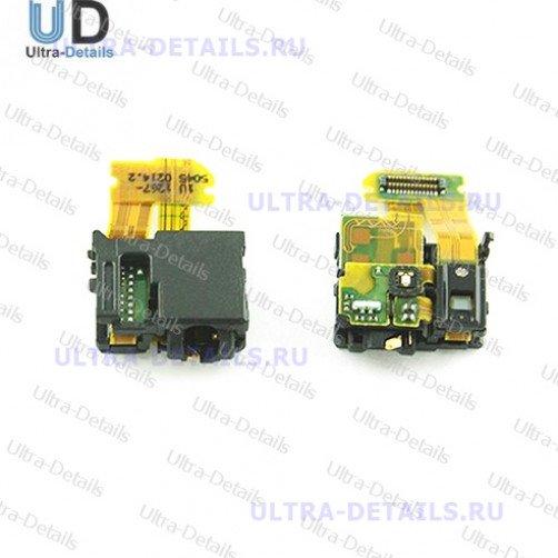 Шлейф для Sony C6603 (Z) на разъем гарнитуры, сенсор