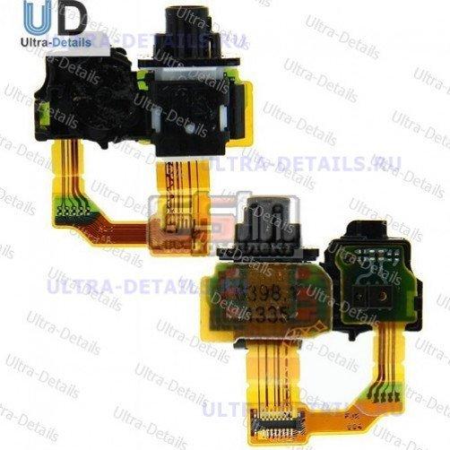 Шлейф для Sony C6903 (Z1) разъем гарнитуры, сенсор