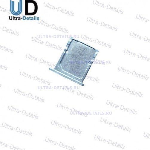 SIM Лоток для Xiaomi Mi4 серебро