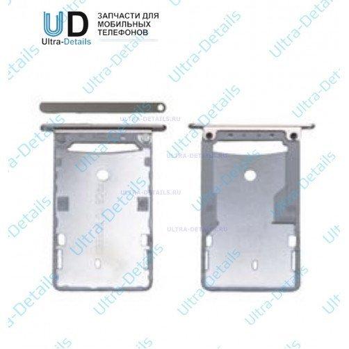 SIM Лоток для Xiaomi Redmi Note 4 серый