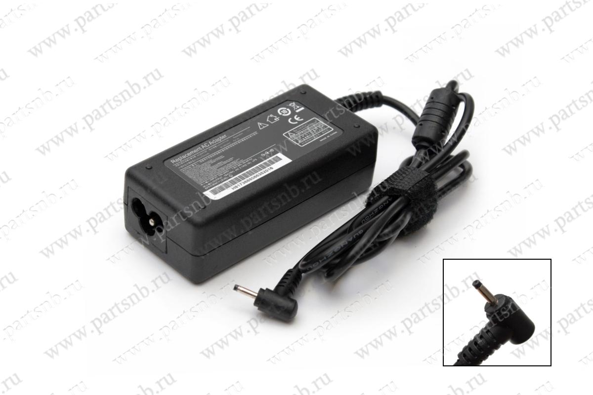 Блок питания для ноутбука Asus AD6630 с сетевым кабелем