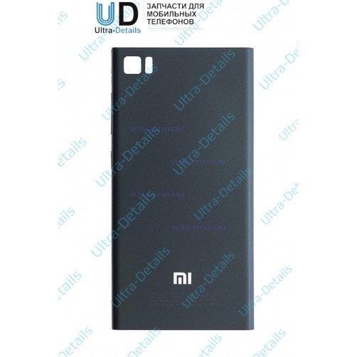 Задняя крышка для Xiaomi Mi3 (черный)