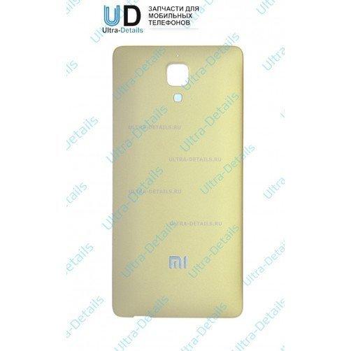 Задняя крышка для Xiaomi Mi4 (золотой)