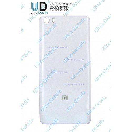 Задняя крышка для Xiaomi Mi5 белый (стекло)