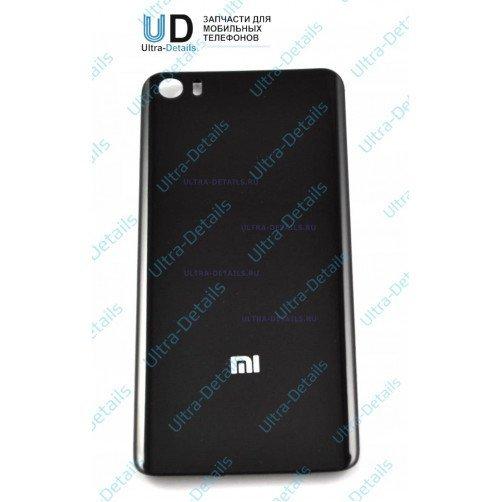Задняя крышка для Xiaomi Mi5 черный (стекло)