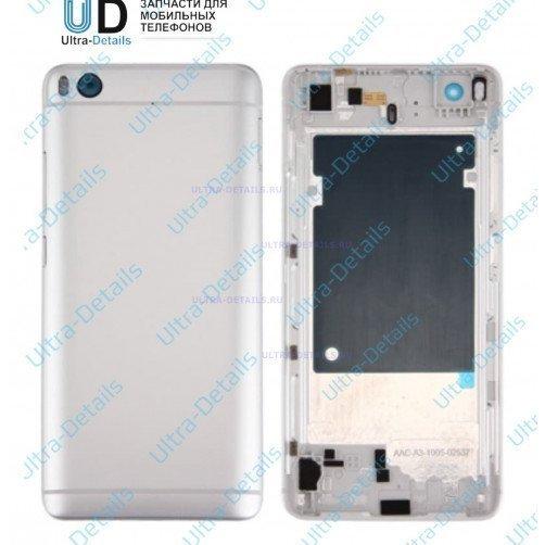 Задняя крышка для Xiaomi Mi5s серебро