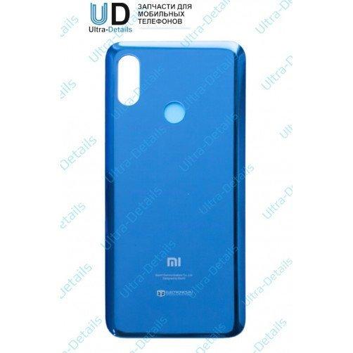 Задняя крышка для Xiaomi Mi8 (синий)