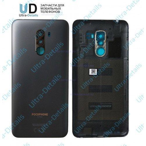 Задняя крышка для Xiaomi Pocophone F1 черный