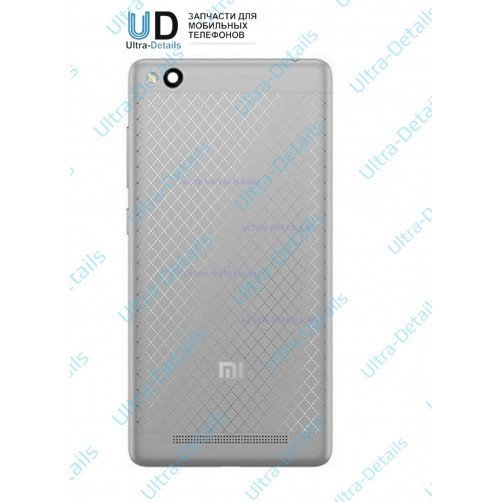 Задняя крышка для Xiaomi Redmi 3 (серый)