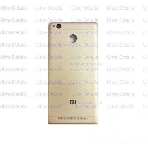 Задняя крышка для Xiaomi Redmi 3S золото