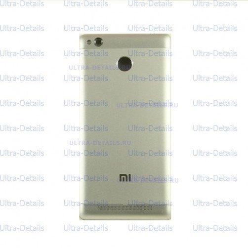 Задняя крышка для Xiaomi Redmi 3S серебро