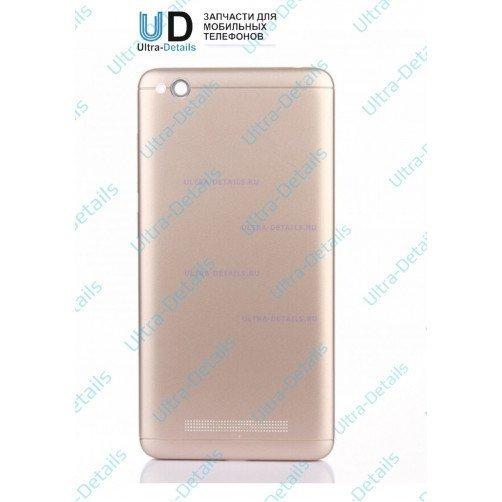 Задняя крышка для Xiaomi Redmi 4A (золотой)