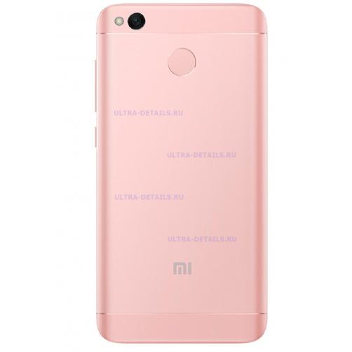 Задняя крышка для Xiaomi Redmi 4X (розовый)