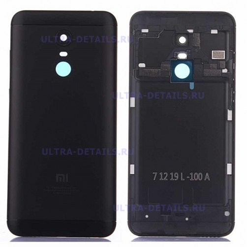 Задняя крышка для Xiaomi Redmi 5 Plus (черный)