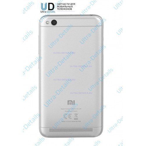 Задняя крышка для Xiaomi Redmi 5A (серый)