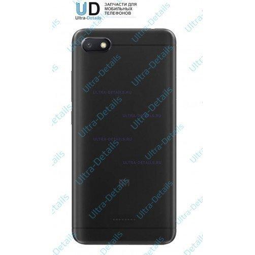 Задняя крышка для Xiaomi Redmi 6A (черный)