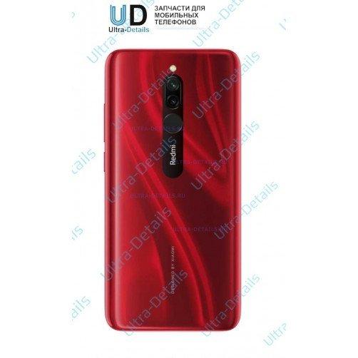 Задняя крышка для Xiaomi Redmi 8 (красный)