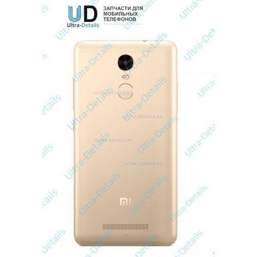Задняя крышка для Xiaomi Redmi Note 3 (золотой)