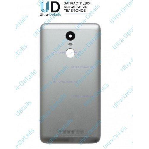 Задняя крышка для Xiaomi Redmi Note 3 (серебро)