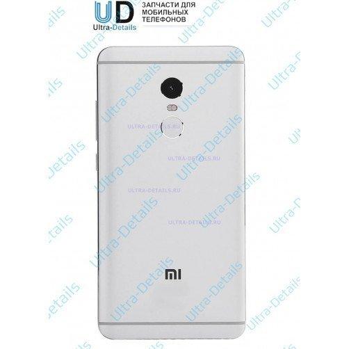 Задняя крышка для Xiaomi Redmi Note 4 серебро