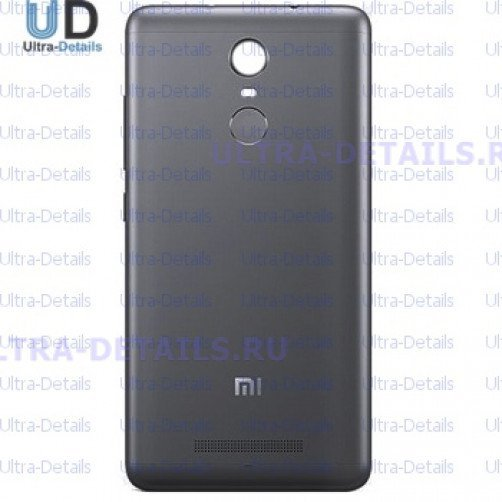 Задняя крышка для Xiaomi Redmi Note 4 черный