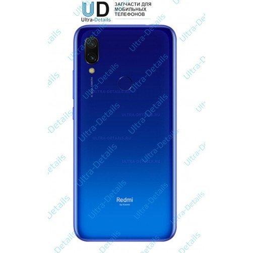 Задняя крышка для Xiaomi Redmi Note 7 (синий)