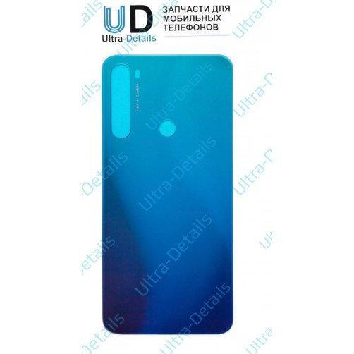 Задняя крышка для Xiaomi Redmi Note 8 (синий)