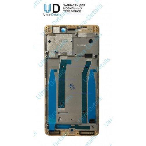Рамка дисплея для Xiaomi Redmi 3 золотой