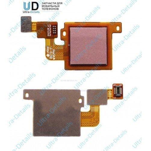 Шлейф кнопки Home для Xiaomi Mi5x, MiA1 (розовый)