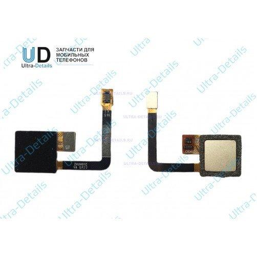 Шлейф для ZTE Blade V7 Lite сканер отпечатка пальцев золотой