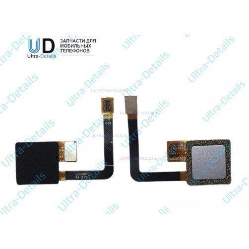 Шлейф для ZTE Blade V7 Lite сканер отпечатка пальцев серебро