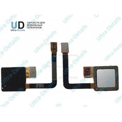 Шлейф для ZTE Blade V7 Lite сканер отпечатка пальцев серый